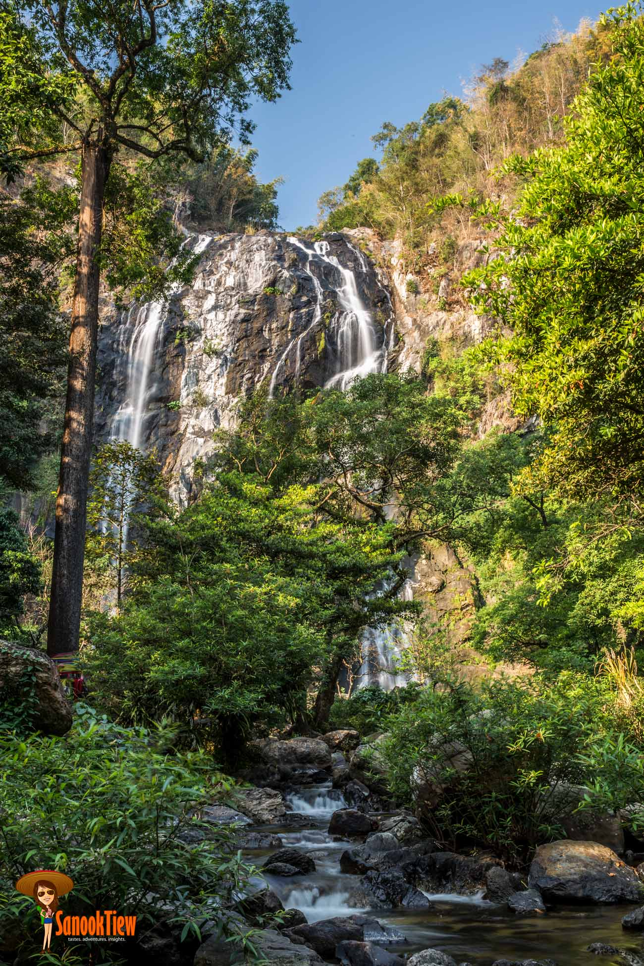 เที่ยว น้ำตกคลองลาน ชมวิว จุดชมวิวกิ่วงวงช้าง ที่ อุทยานแห่งชาติคลองลาน