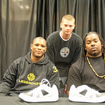 3/10/13 - Pittsburgh Steelers Isaac Redman & Steve McLendon :