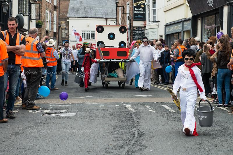 Elvis spotted in Knaresborough 2015