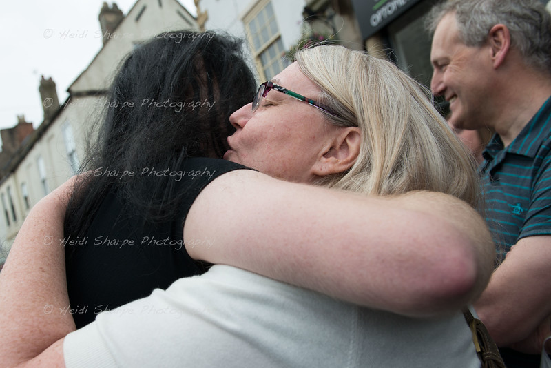 Just a wee hug!
