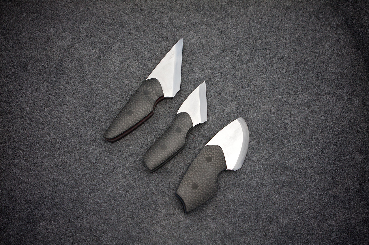 I finished the 3 kiridashi today.  One of these will go to my wife and another to my step-father.  <br /> <br /> These were super fun to make and I'm looking forward to making more!