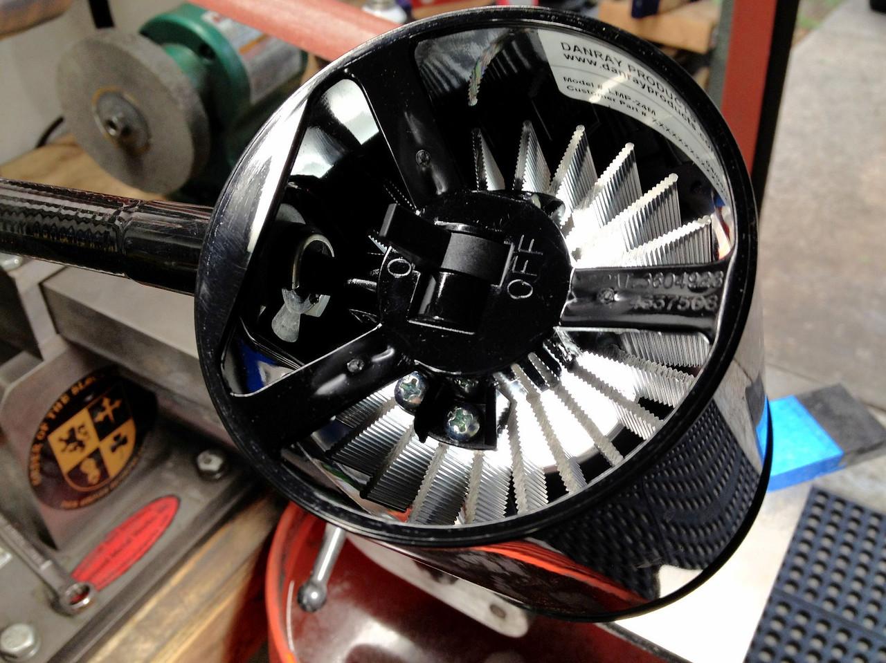 Aluminum heat sink!