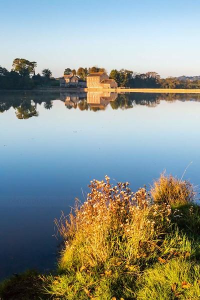 Carew Castle Tidal Mill.