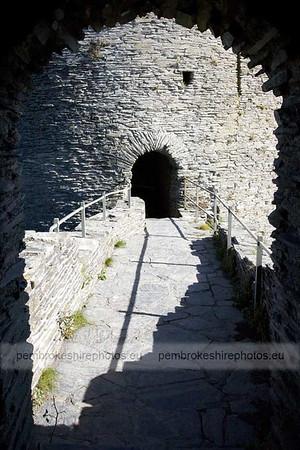 East tower, Cilgerran Castle
