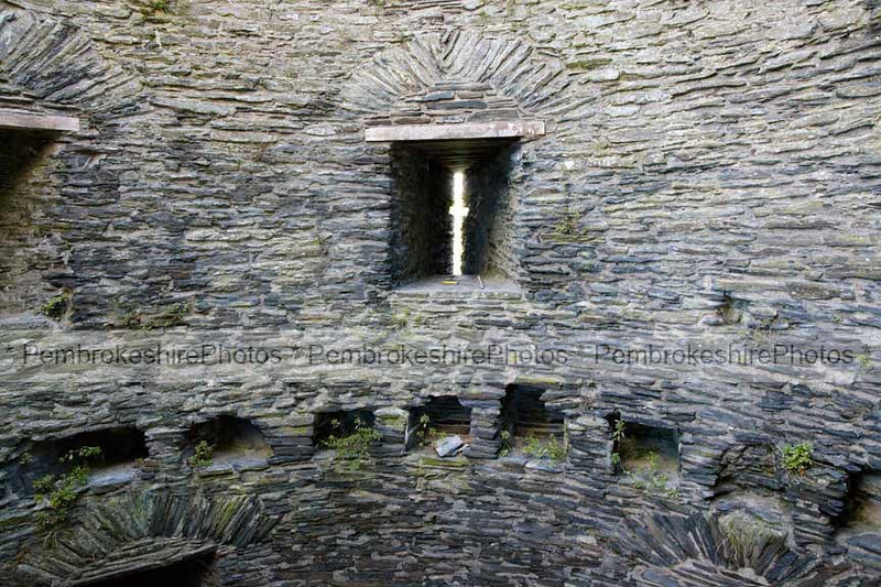 East tower, Cilgerran Castle