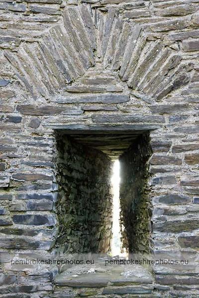 West tower, Cilgerran Castle