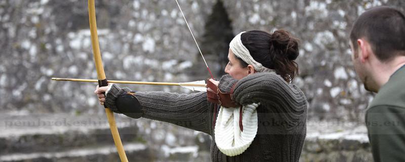 Knights of Longshank, Reenactment group, Pembroke Castle
