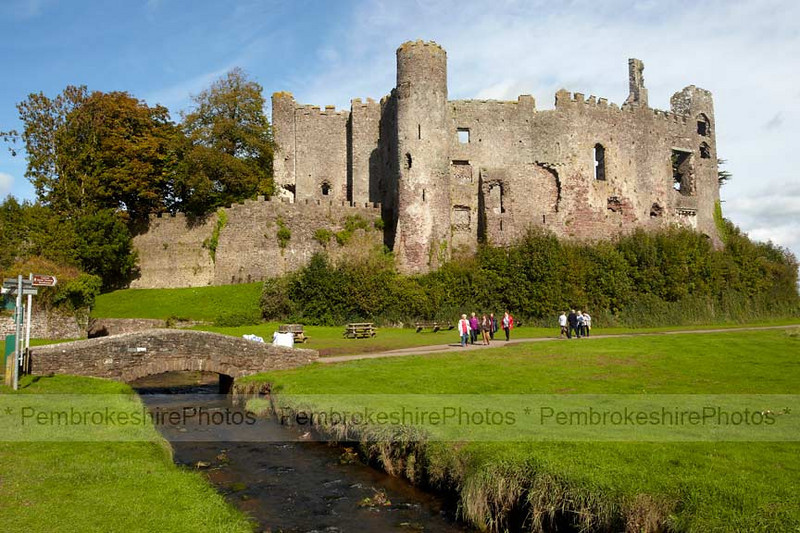 Laugharne Castle.  Yes, I know it's in Carmarthenshire!