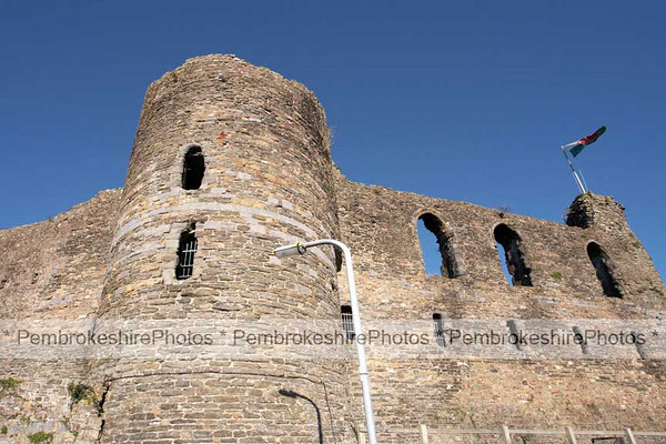 Haverfordwest Castle.