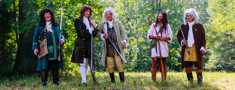 2016 Knights of the Golden Horseshoe 300th Anniversary Living History Encampment at Germanna, Sept 17, 2016