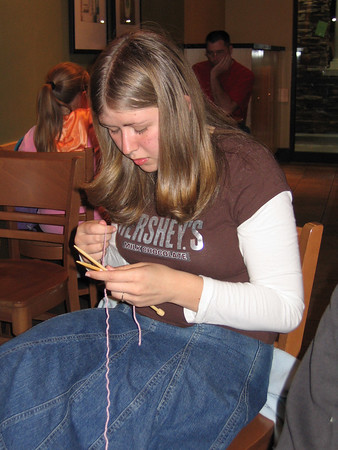 Knitting, sewing and crafting