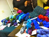 Some of the yarn Karida brought with her.