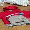 Maria's hoodie.  November 27, 2013.
