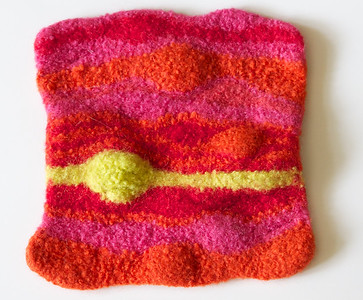 felted potholders