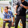 """22 Things: Nos. 2 & 3 (Chefs & Bartenders)"" photo shoot for HAWAI'I Magazine — Tough chefs Sheldon Simeon & Quinten Frye. © 2013 Sugar + Shake"