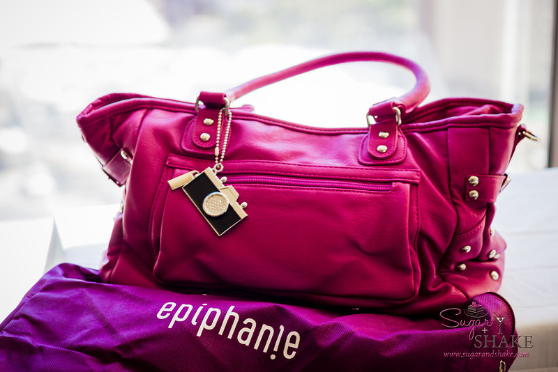 "Love that Epiphanie bags come with a ""blankie bag"" for storage. © 2013 Sugar + Shake"