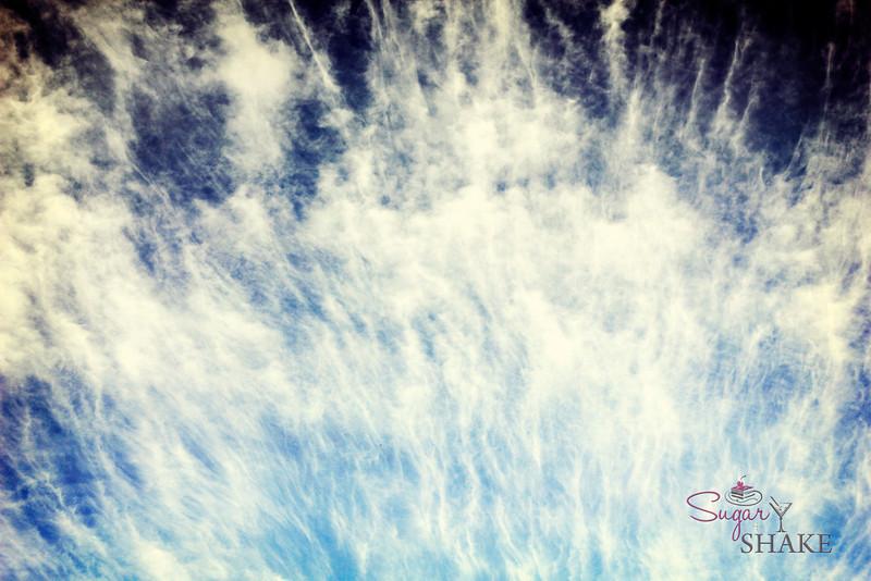 Ocean or sky? You guess! © 2012 Sugar + Shake