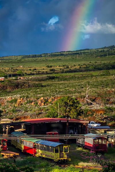 {friday photo}: Rainbow over West Maui, taken during #KFRESH13 weekend. © 2013 Sugar + Shake