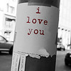 A message of love in San Francisco. © 2014 Sugar + Shake