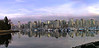 Panorama of view from Stanley Park