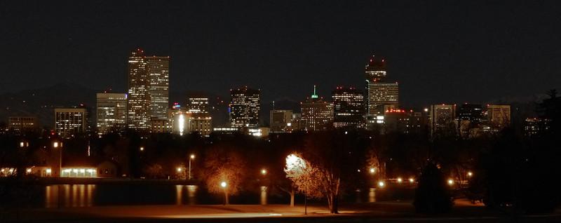 Goodnight Denver!<br /> <br /> Denver Botanic Gardens, Blossoms of Light, Christmas 2013