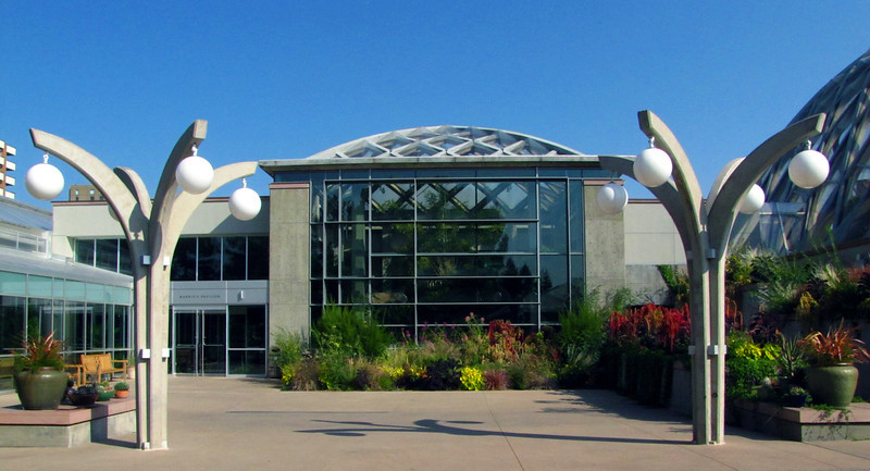 Boettcher Memorial Tropical Conservatory entrance