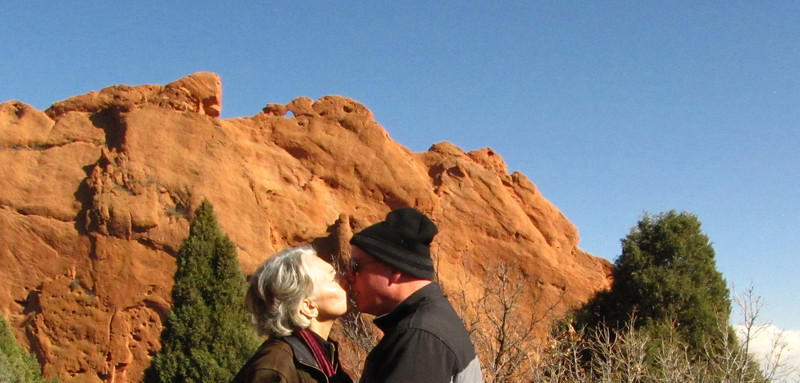 Kissing under a camel, a geocache challenge.