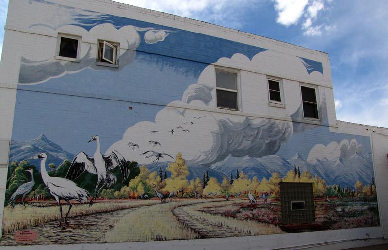 Alamosa Colorado - The Crane Building.