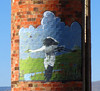"Mural #17 - Whooping Cranes<br /> <br /> Romeo Colorado, by Fred Haberlein<br /> <br /> The Murals of Conejos County Driving Tour ... ""through some of the most beautiful pastoral landscapes in the Rocky Mountains. The murals engage in the ages old local tradition of story-telling depicting tales of settlement, folklore, faith, scenic beauty and everyday rural life""."