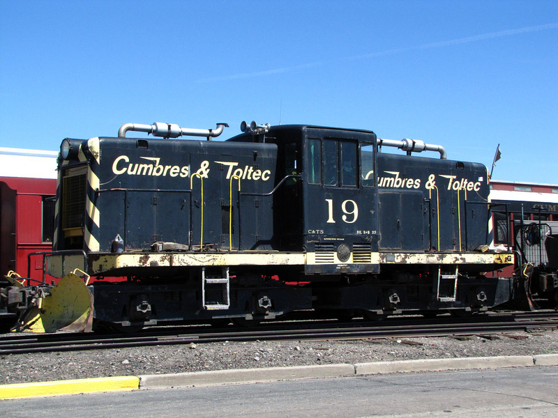 Workhorse. We are interested in riding the scenic railroad when we are next in the area.