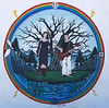 "Mural #20 - Walking in Beauty<br /> <br /> Antonito Colorado, by Roger Briones, Lauren Karlskin, and others<br /> <br /> The Murals of Conejos County Driving Tour ... ""through some of the most beautiful pastoral landscapes in the Rocky Mountains. The murals engage in the ages old local tradition of story-telling depicting tales of settlement, folklore, faith, scenic beauty and everyday rural life""."