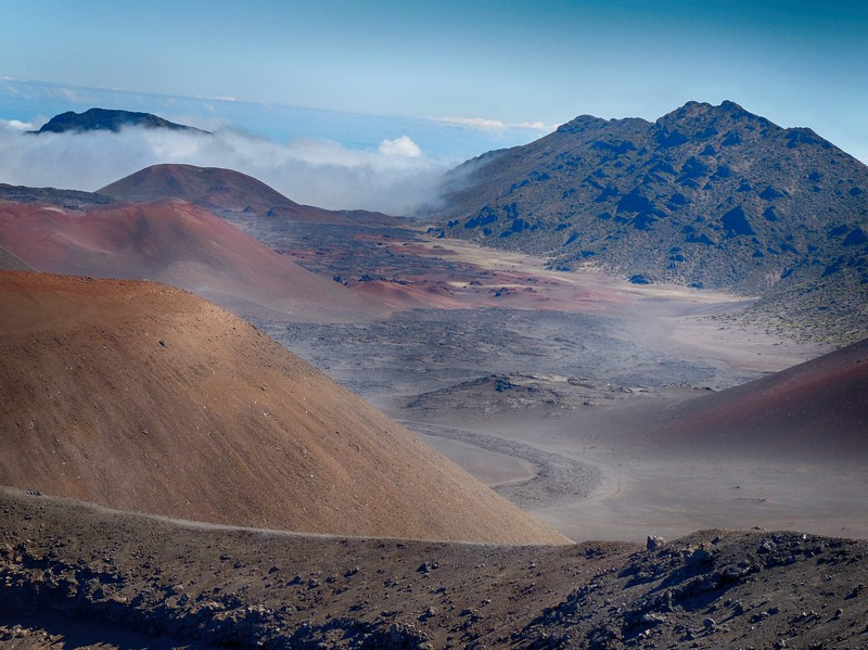 Haleakalā National Park - Sliding Sands Trail - Maui