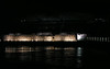 Night lights at the dam.