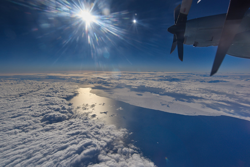 Clouds and Sea Ice