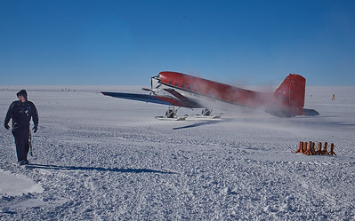 Our Ride Home from the South Pole