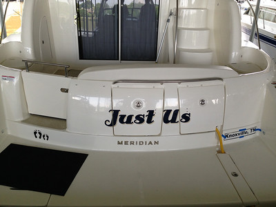 Just Us - Knoxville Boat Graphics