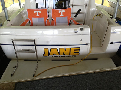 Jane - Knoxville Boat Graphics