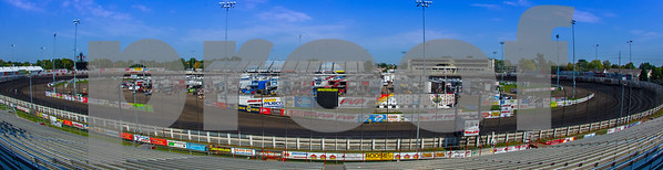 Knoxville  Late  Model  Nationals  2014