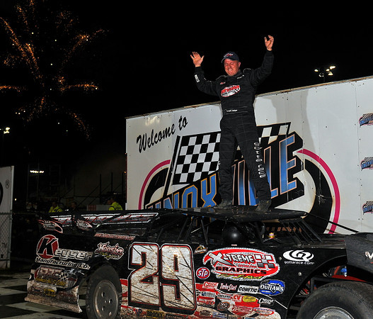 Knoxville Late Model Nationals - 9/28/13