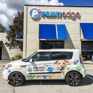 Knoxville-Vehicle-Graphics-Toyota-Knoxville-Young-Williams-Animal-Center-1