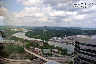The Tennessee River from Club LeConte