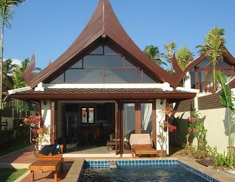 Lanta Beach Front: 2 Bedroom Villa Klong Nin Beach, image copyright KoLanta.net