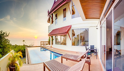 Temple House: 6 Bedroom Villa, Kantiang Bay, image copyright KoLanta.net