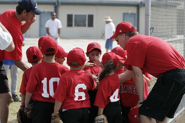 Angels vs. Royals, Ocean View Pony Baseball (Shetland)