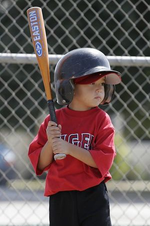 #03 Anthony Quirarte at bat, Angels vs. Royals, Ocean View Pony Baseball (Shetland)