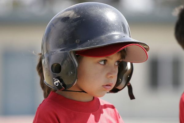 #04 Breanna Loyola ready to bat, Angels vs. Royals, Ocean View Pony Baseball (Shetland)