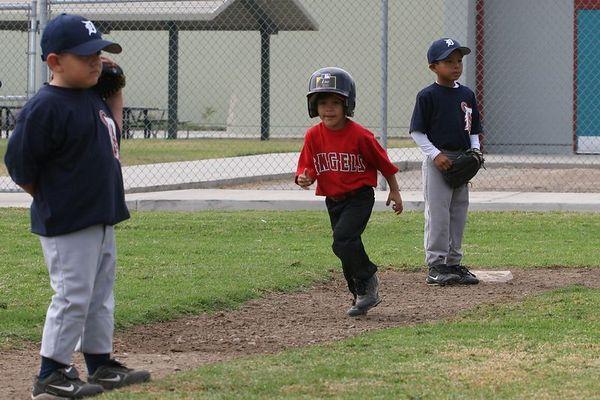 Tigers vs. Angels, Ocean View Pony Baseball