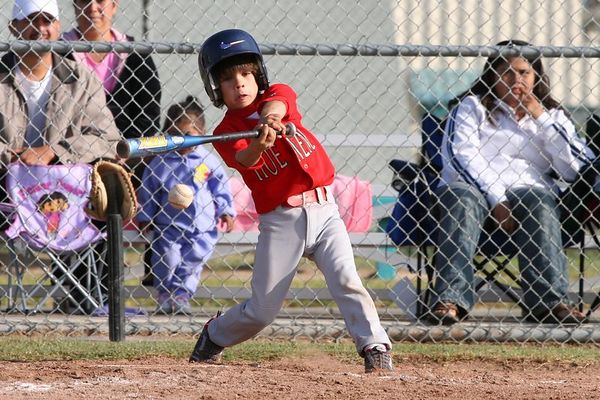 #10 Jacob Neri, Braves vs. Nationals, 2005 Ocean View Pony Baseball, Pinto Division