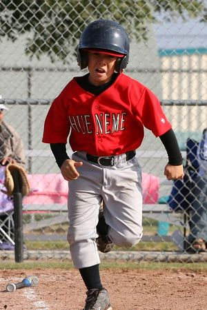 #17 Anthony Aranda, Braves vs. Nationals, 2005 Ocean View Pony Baseball, Pinto Division