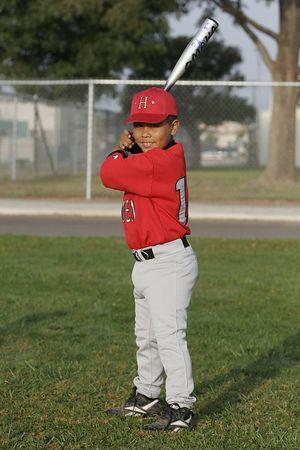 #13 Alfonso Aguilera, Hueneme Nationals, 2005 Ocean View Pony Baseball, Pinto Division